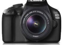 Compra Aquí Cámara Canon Eos 1100D Top Mejores 24