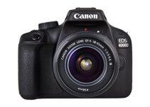 Listado de Cámara Reflex Canon 4000D 20