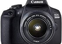 Listado de Cámara Canon 2000D 24