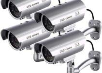 Top 10 Cámara Vigilancia Falsa Con Mejores Valoraciones 21