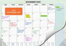 Compra Aquí Calendario Para Ordenador Top Mejores 21